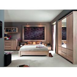 Комплект для спальни KASP с 6 дверным шкафом