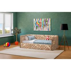 Кровать 90 с матрасом Komfort